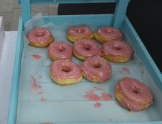 The Homer! Made with Raspberry and Lemon Icing
